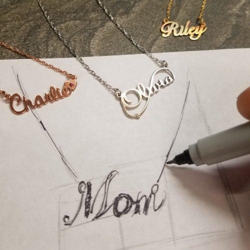 Custom Mom Pendant